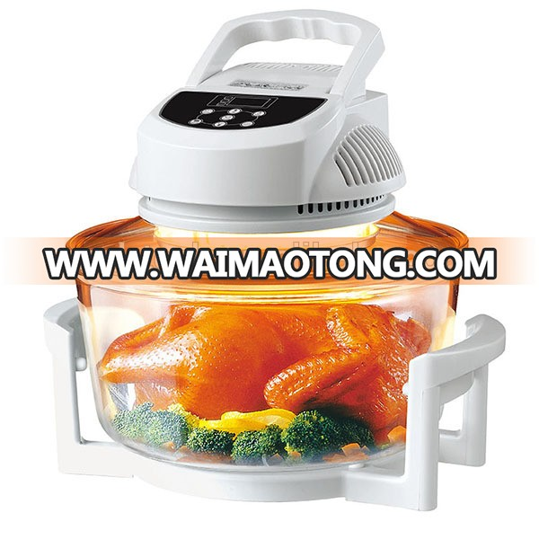 Digital halogen oven convection oven turbo oven 1200W